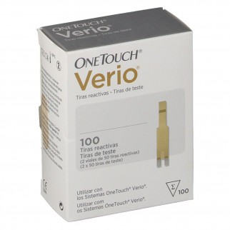 ONE TOUCH VERIO TIRAS REACTIVAS 100U