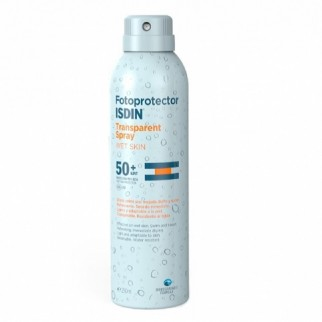 ISDIN FOTOPROTECTOR IP50 WET SKIN TRANSPARENT SPRAY 250ML