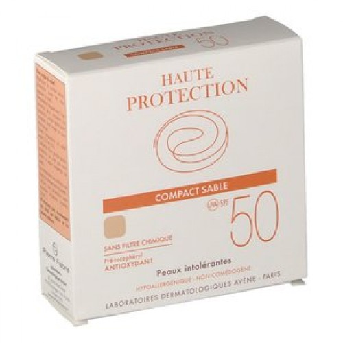 Avene Solaire Compact Teinte Ip50 Sable 10g