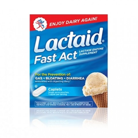 LACTAID FAST ACT 60 TABLETAS