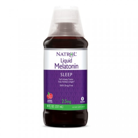 NATROL MELATONINA LIQUIDA 2.5MG 237ML