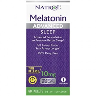 NATROL MELATONINA ADVANCED SLEEP 10MG T/R 60 TABLETAS