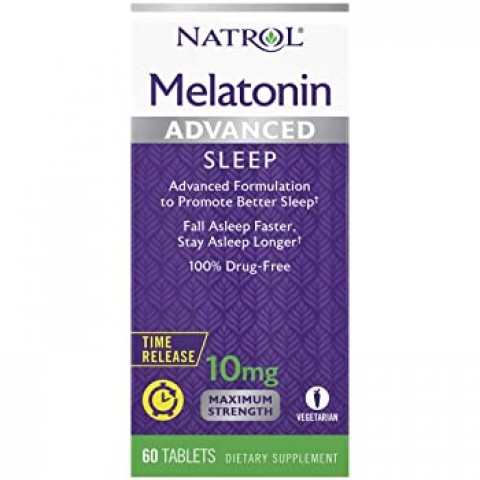 NATROL MELATONINA ADVANCED SLEEP 10MG 60TAB