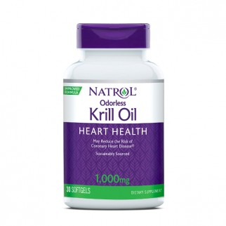 NATROL ODORLESS KRILL OIL 1000MG 30 SGEL 7102.921