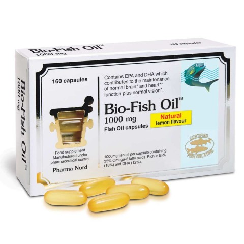 PHARMA NORD BIO-FISH OIL 1000MG 160CAP