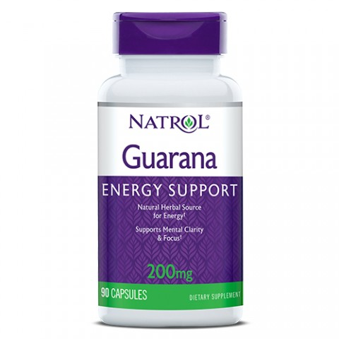 NATROL GUARANA 200MG 90 CAPSULAS