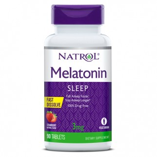 NATROL MELATONINA 3MG F/D 90 TABLETAS