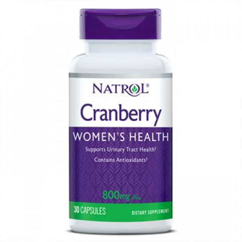 NATROL CRANBERRY WOMEN´S HEALTH V2 800MG 30 CAPSULAS