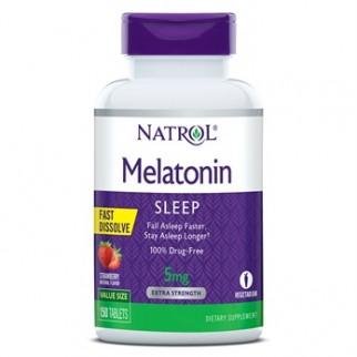 NATROL MELATONIN SLEEP F/D 5MG 150TAB FRESA